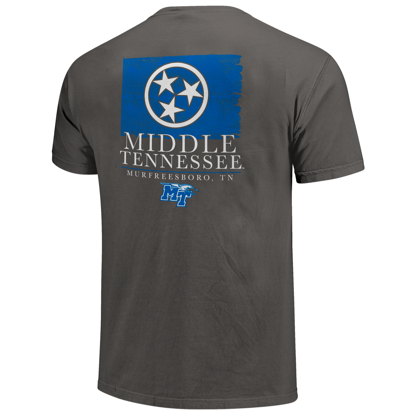 Middle Tennessee Watercolor State Flag Comfort Colors Shirt