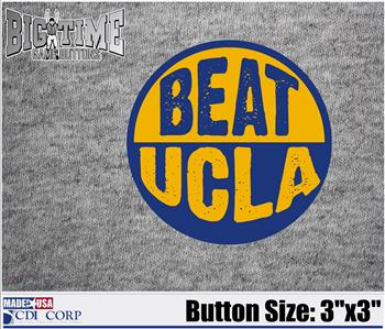 "Beat Button ""UCLA"""