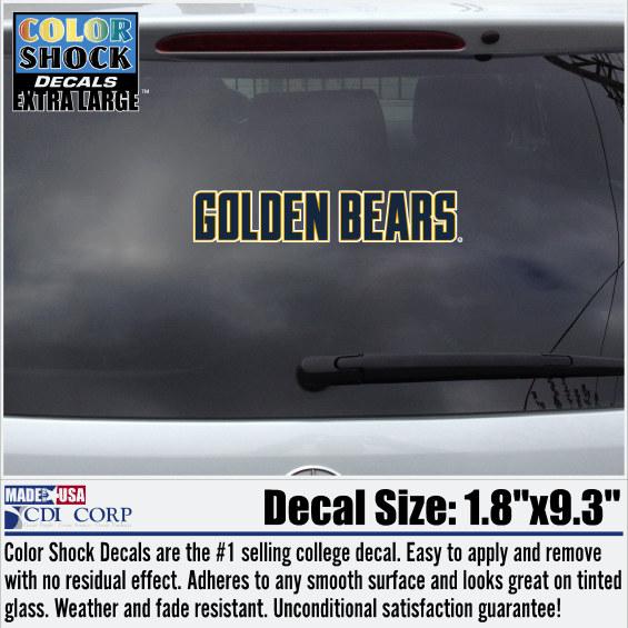 Golden Bears Decal