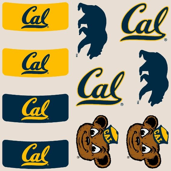 Game Day Body - cals: Cal and Mascot