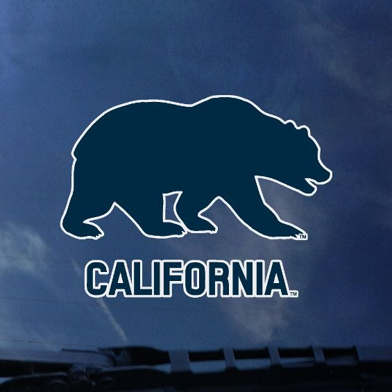 State Flag Cali - style decal