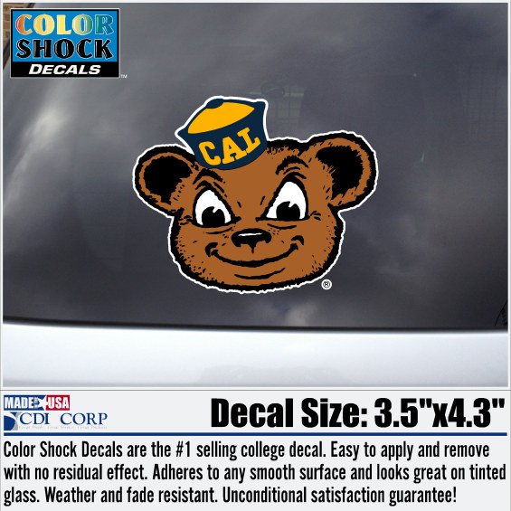 Cal Bears Oski Decal