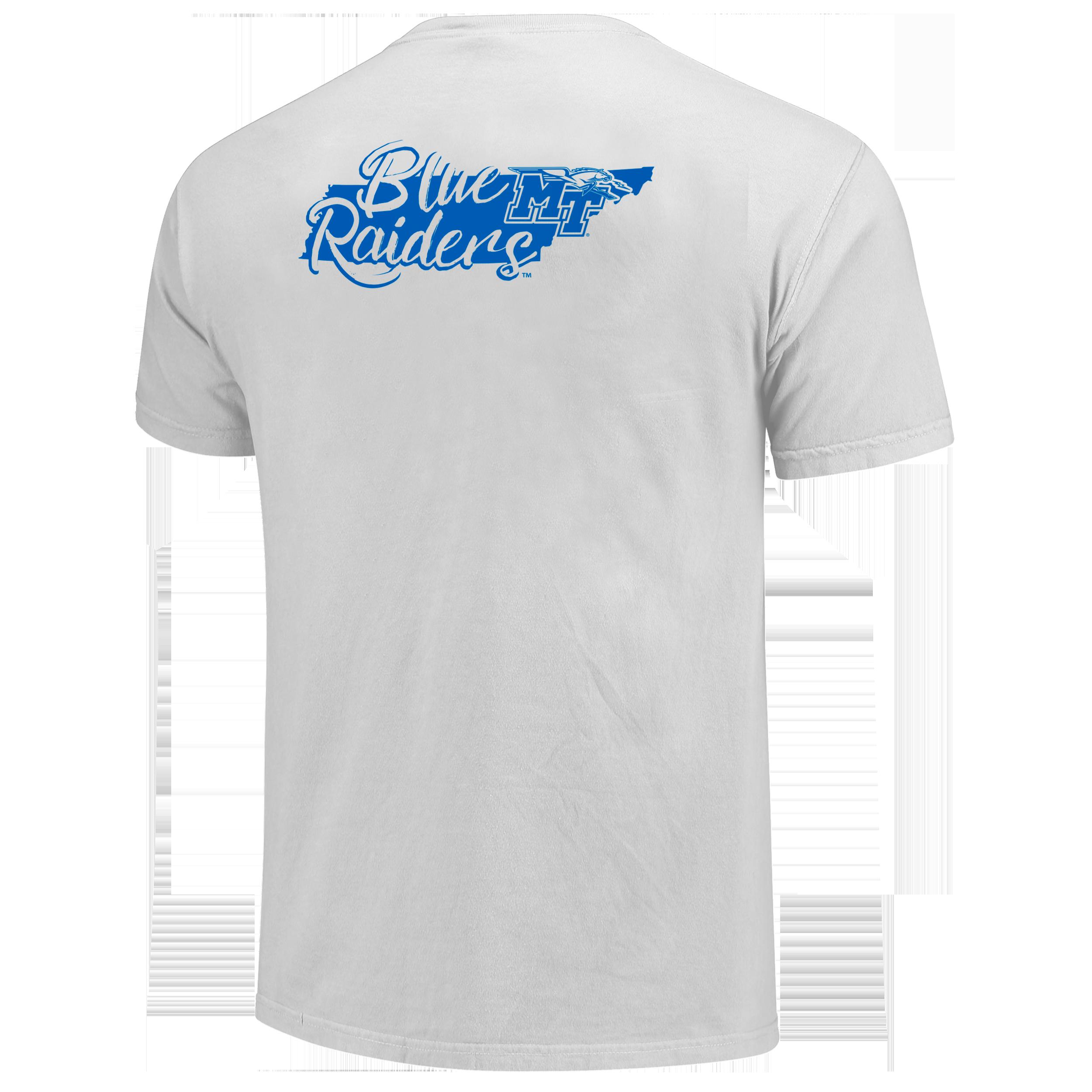 Blue Raiders State Script Tshirt