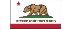 Cal Bears Laser Cut Acrylic Magnet California Flag