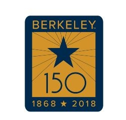 "Cal Bears 2"" x 2"" Laser Cut Magnet Berkeley 150"