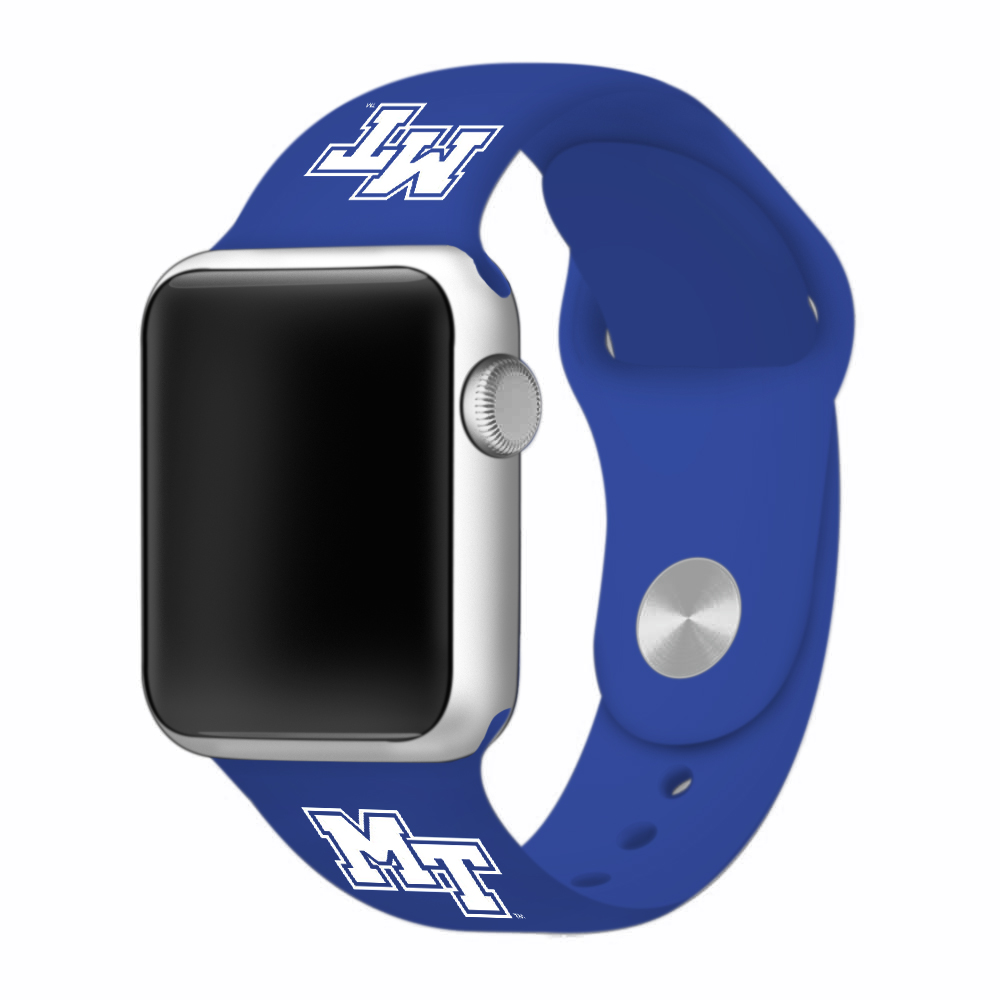 MT Logo Silicone Sport Band for Apple Watch