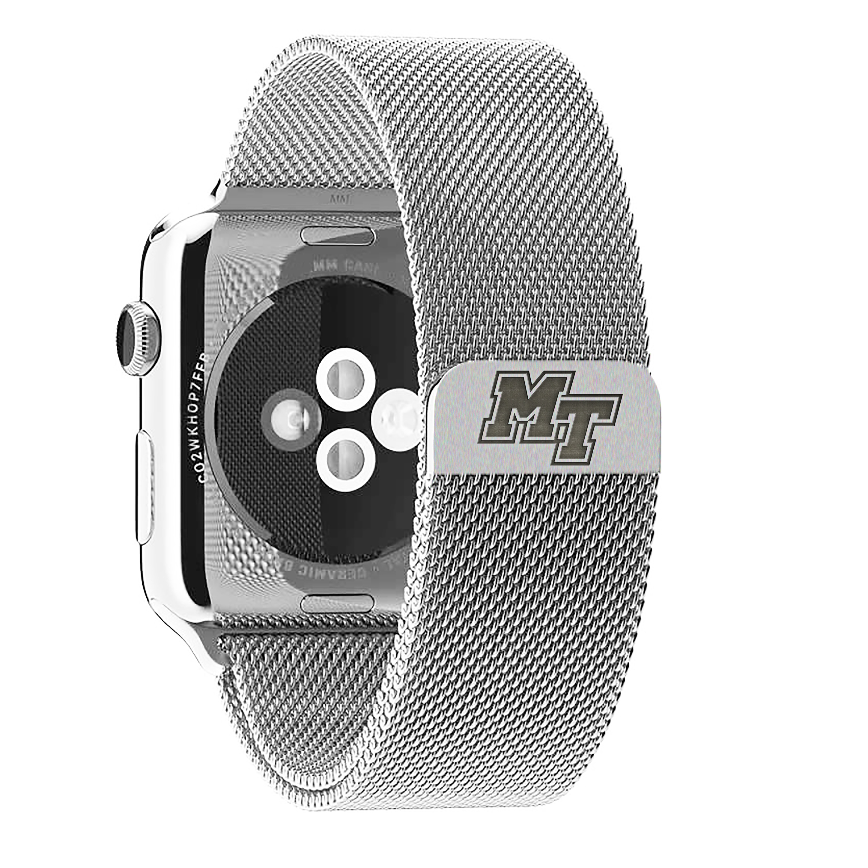 MT Logo Stainless Steel Band for Apple Watch