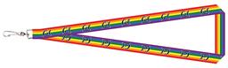 "Cal Bears Pride Rainbow 3/4"" Satin Lanyard"