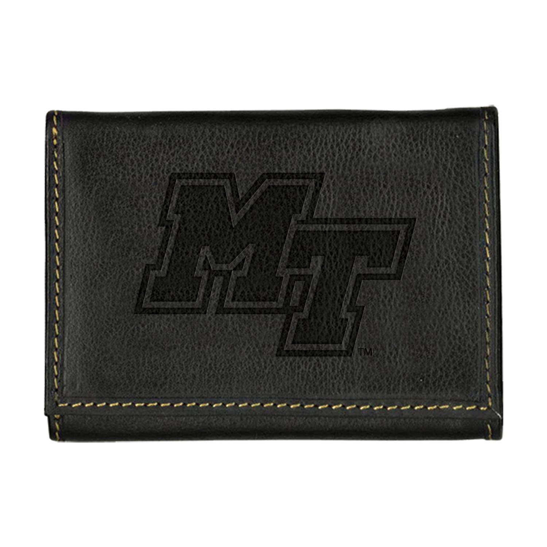 MT Logo Contrast Stitch Tri-fold Wallet