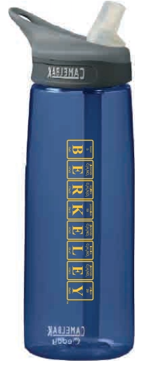 University of California Berkeley Periodic Table .75L Camelbak Eddy Bottle