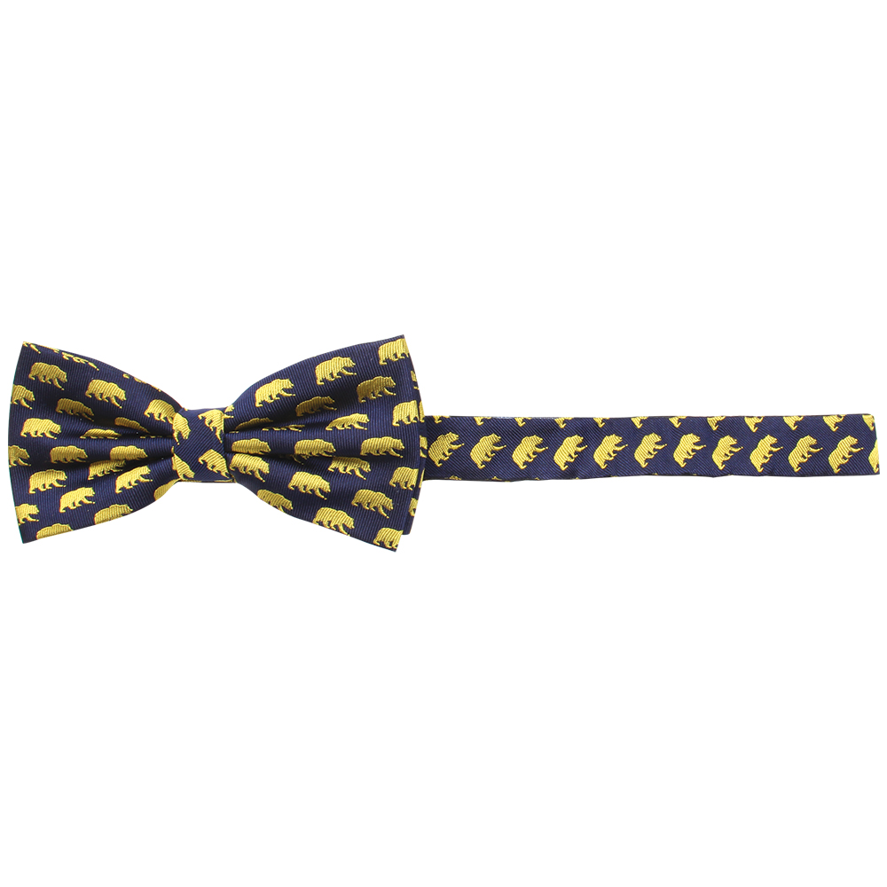 Cal Bears Silk Bow Tie