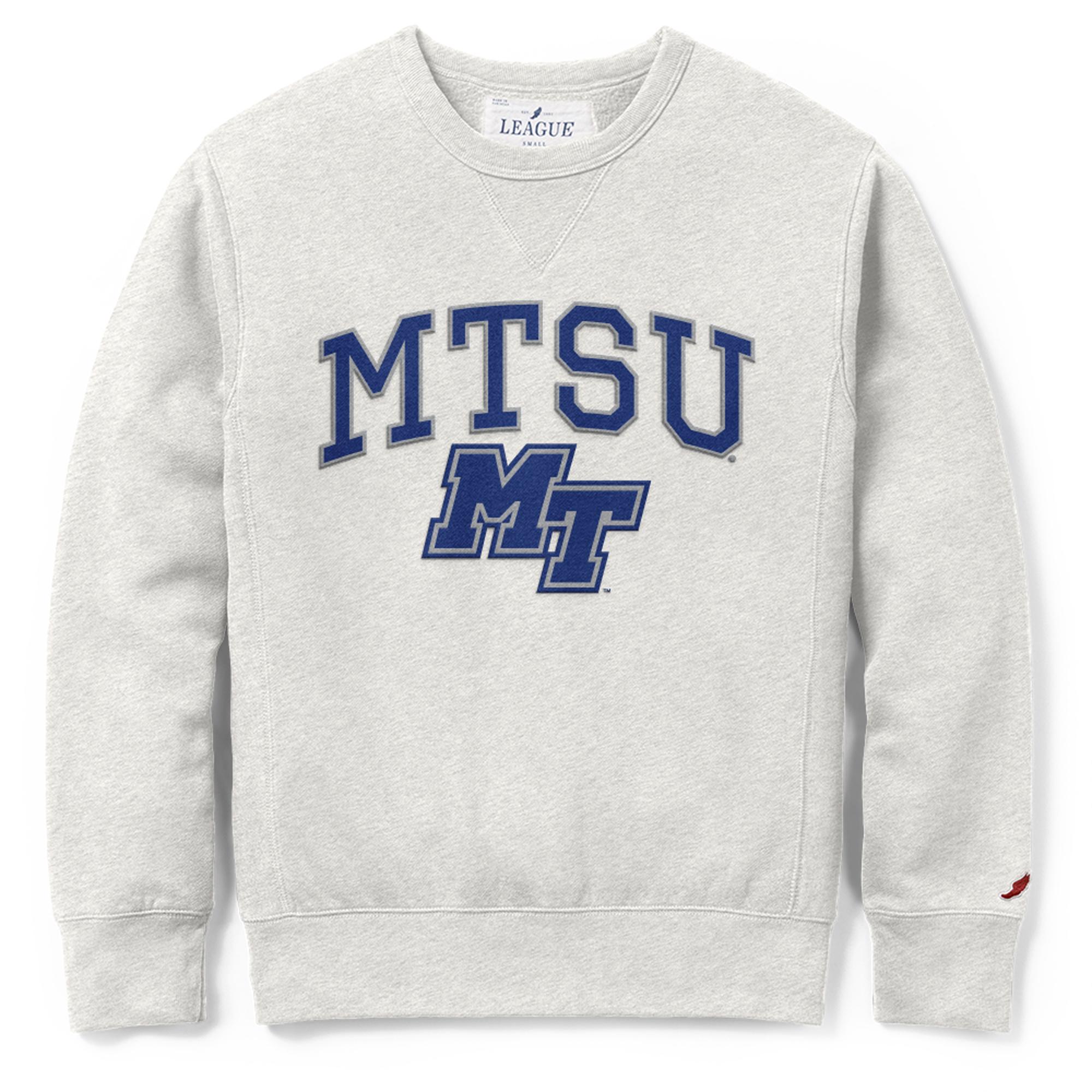 MTSU MT Logo Stadium Crewneck Sweatshirt