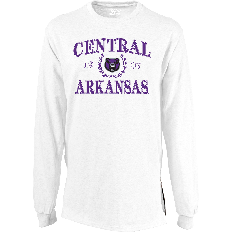 Central Arkansas Zip LS Tee