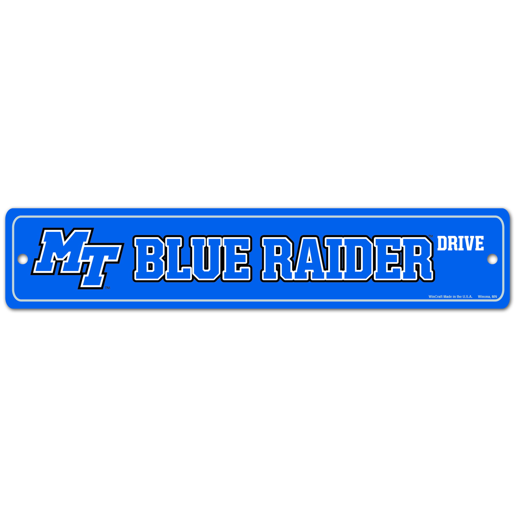 Blue Raider Drive Street Sign