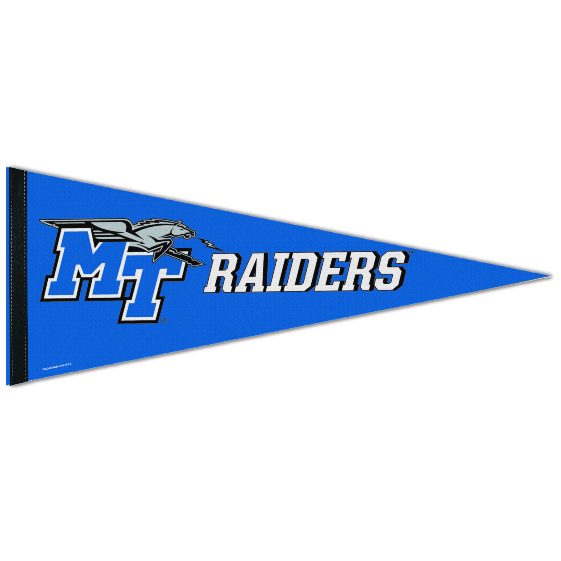 "MT Logo w/ Lightning Raiders 12"" x 30"" Pennant"