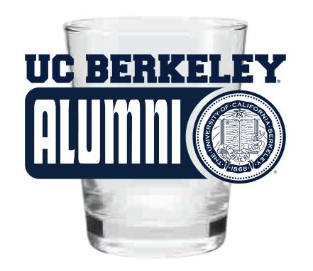 Cal Bears 1.75oz Shot Glass Alumni Seal