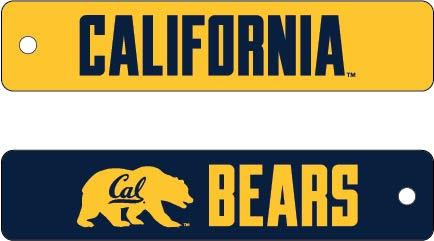 University of California Berkeley 2-Sided Airline Bag Tag