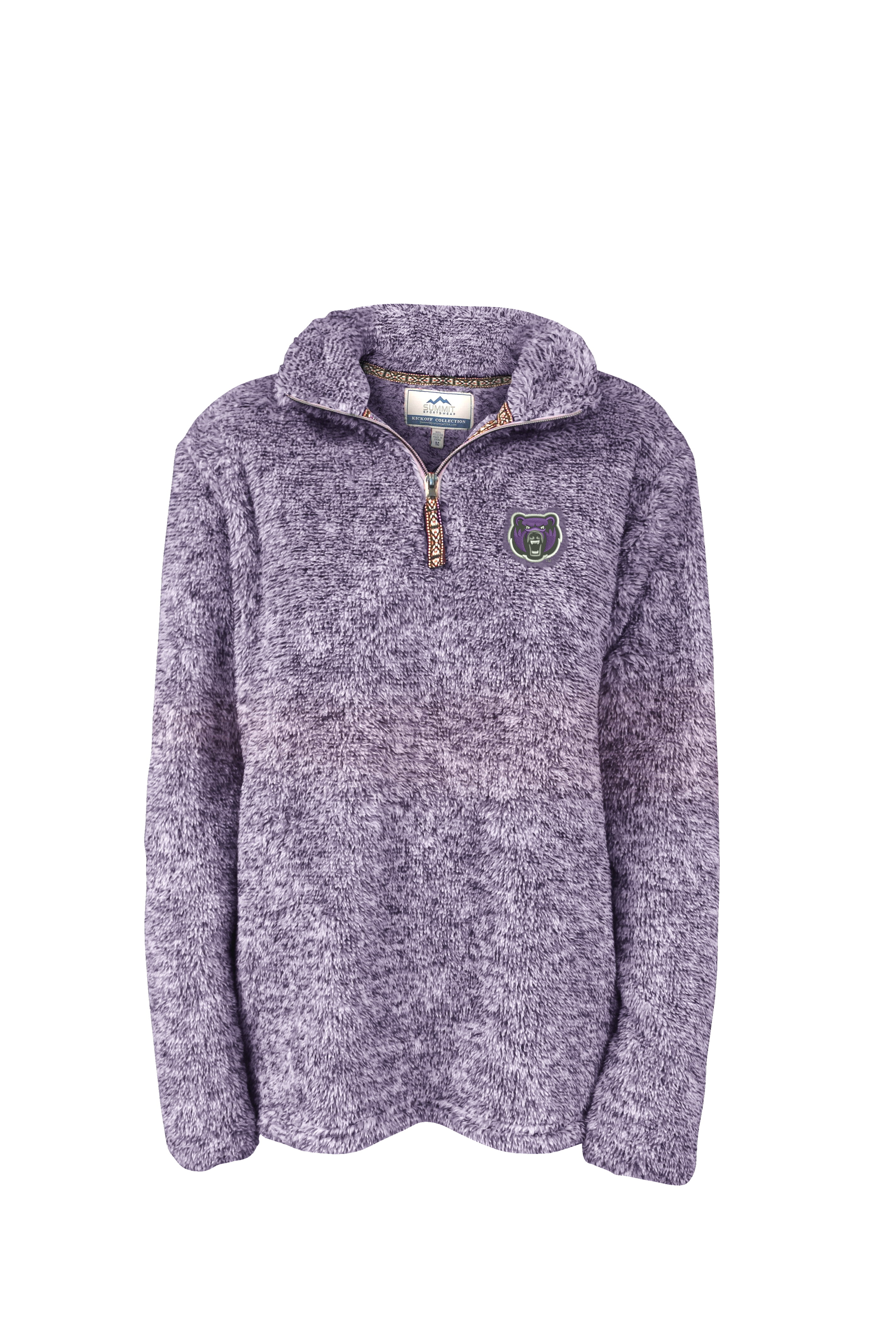 Flecked Sherpa 1/4 Zip