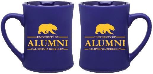 Cal Bears 15oz Matte Diner Mug Alumni
