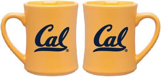 Cal Bears 15oz Matte Diner Mug Cal Logo