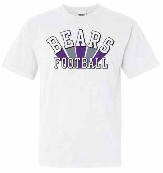 Bears Football Tee