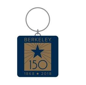 """Cal Bears 2"""" x 3"""" Acrylic Keytag Berkeley 150"""