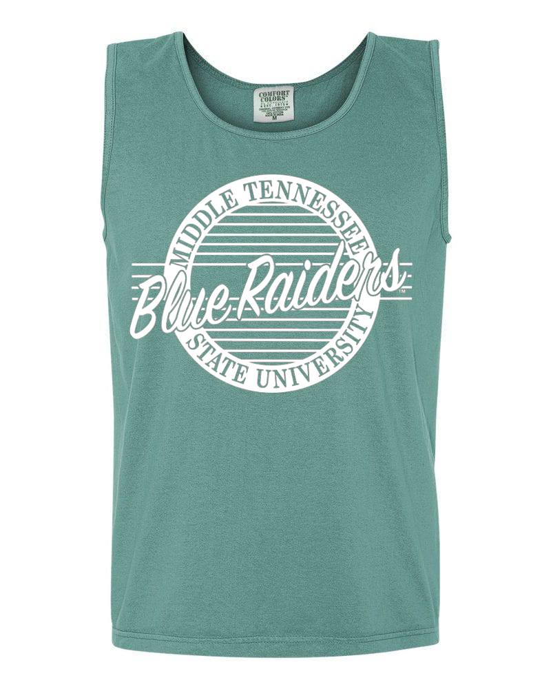 Blue Raiders Retro Comfort Colors Tank