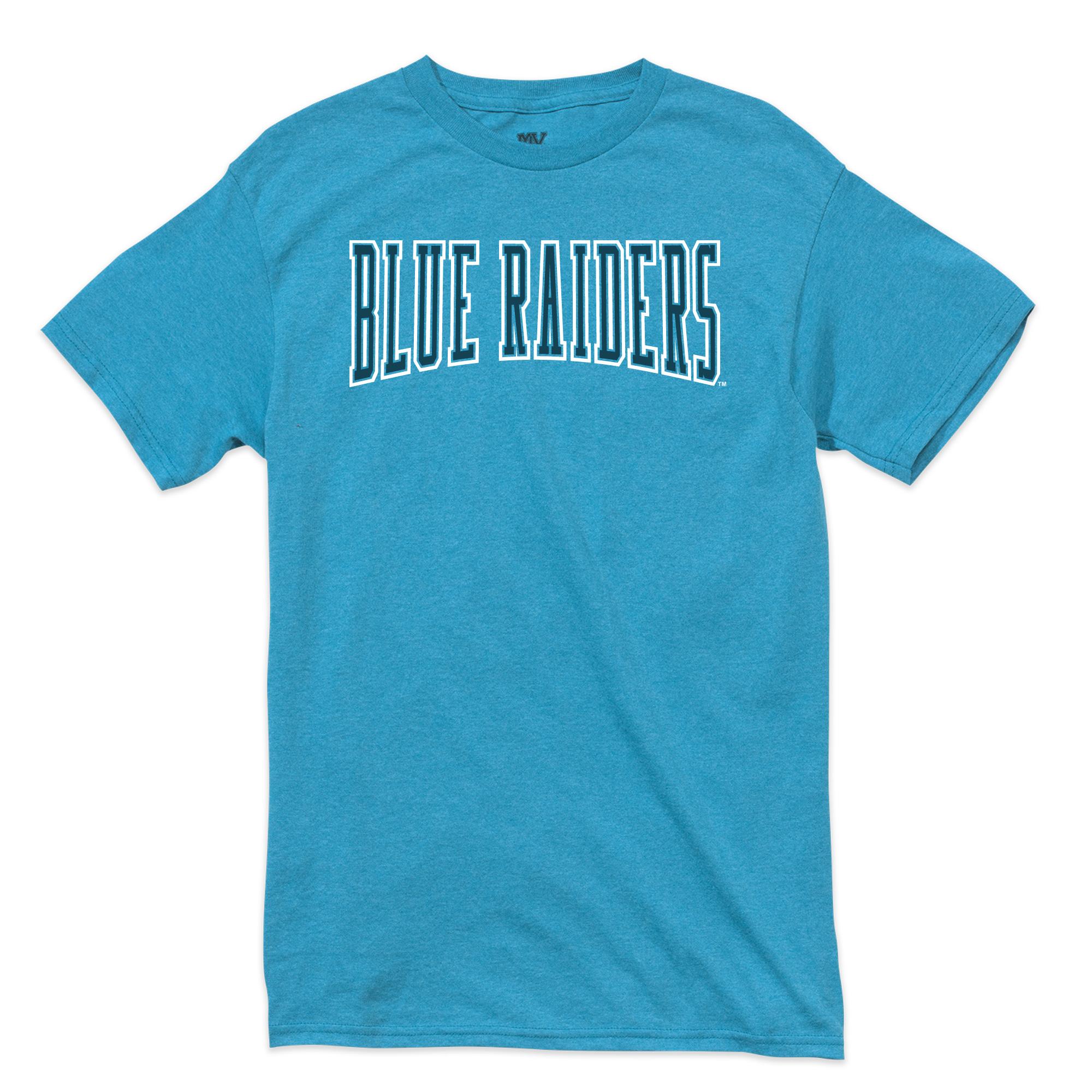 Blue Raiders Tonal Retro Heathered Tshirt