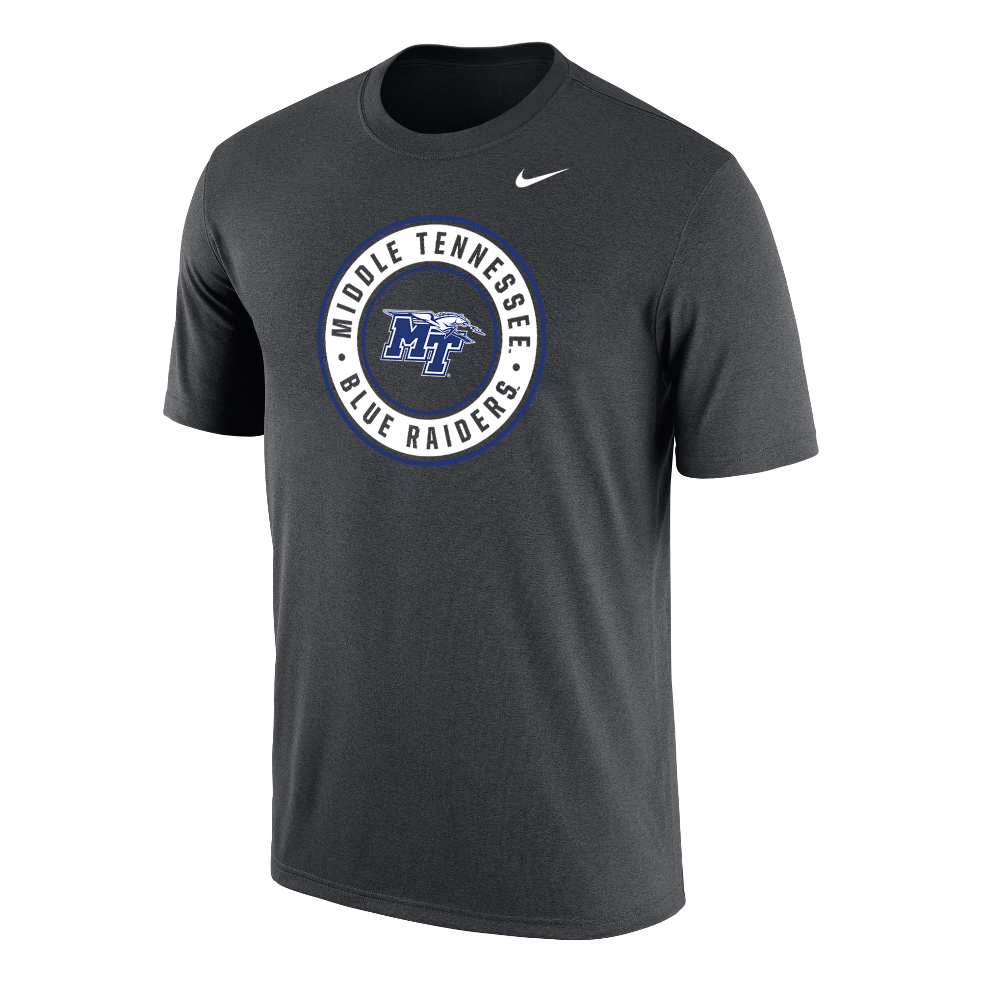 Middle Tennessee Blue Raiders Circle Nike® Dri-Fit Cotton Shirt