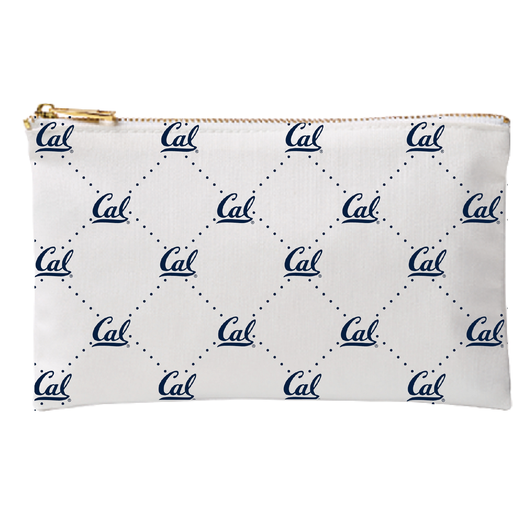 University of California Berkeley Zippered Pouch Make up Case