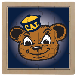 Cal Bears Oski Wooden Jigsaw Puzzle