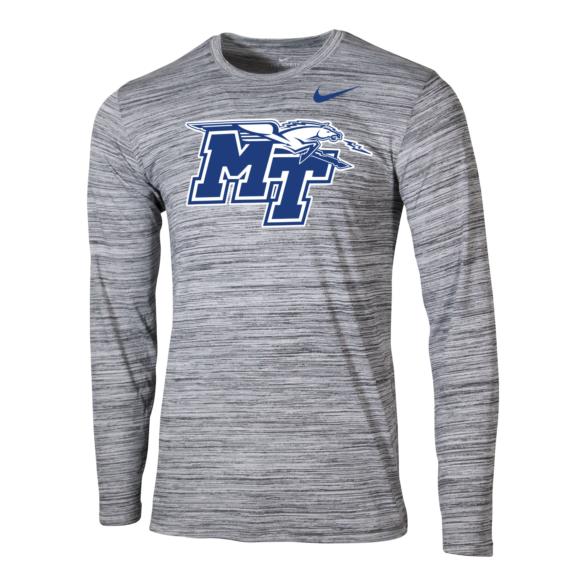 MT Logo w/ Lightning Nike® Legend Velocity Travel Long Sleeve Shirt