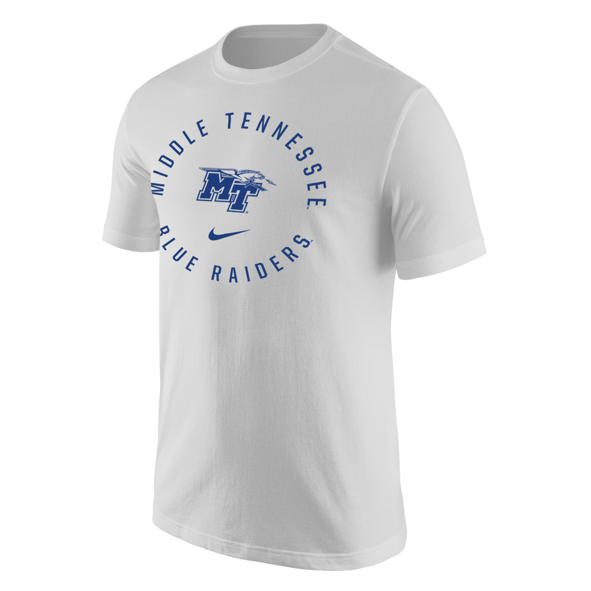 Middle Tennessee Arched Around MT Logo w/ Lightning Nike® Core Shirt