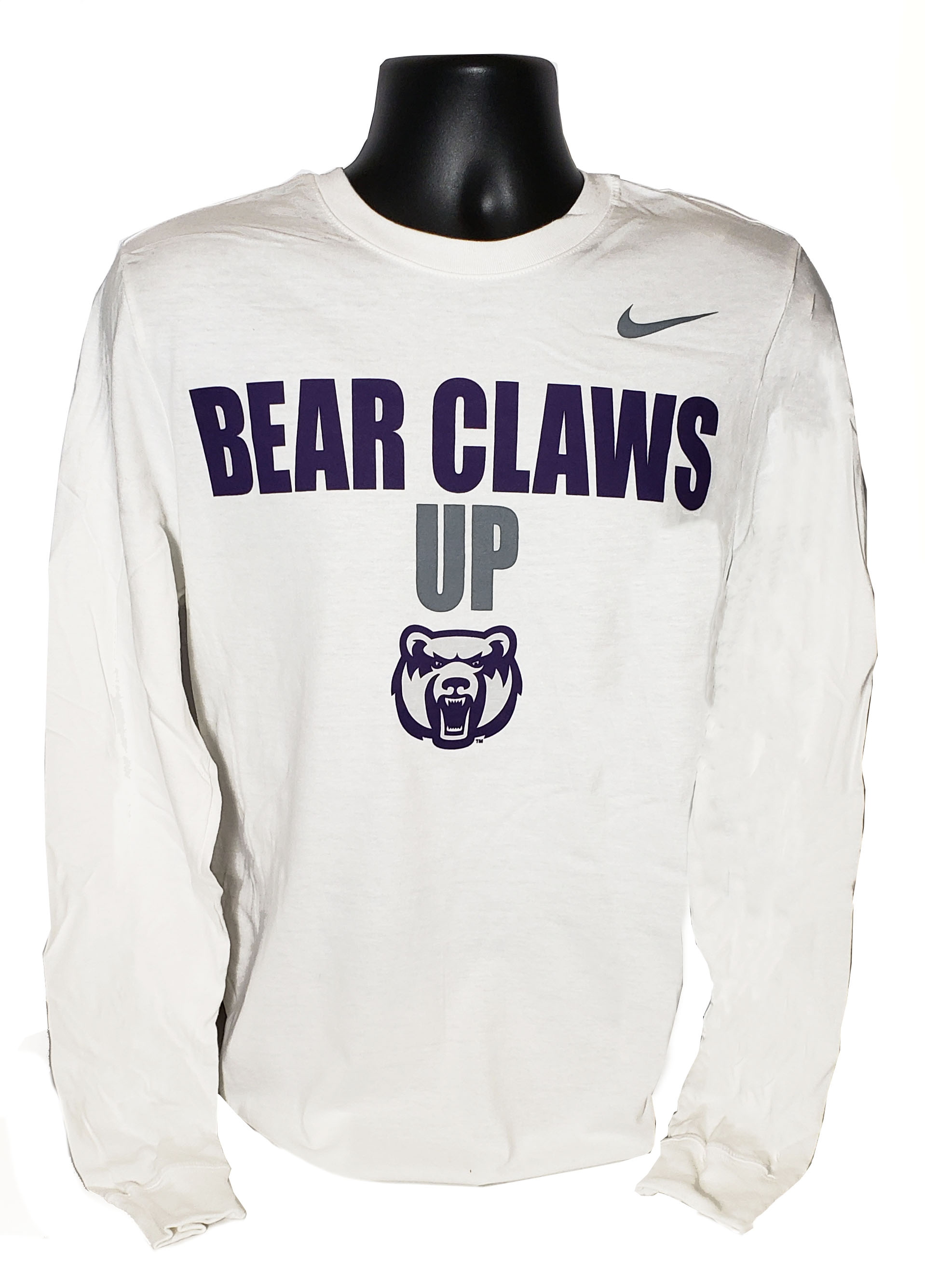 Bear Claws Up LS Tee