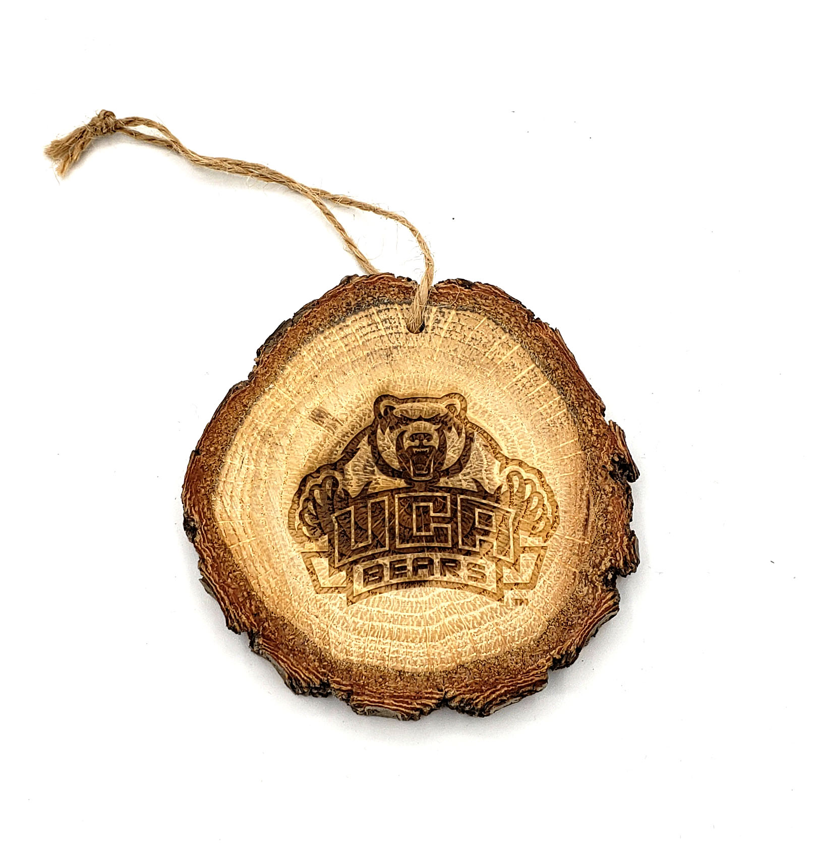 UCA Wood Slice Ornament