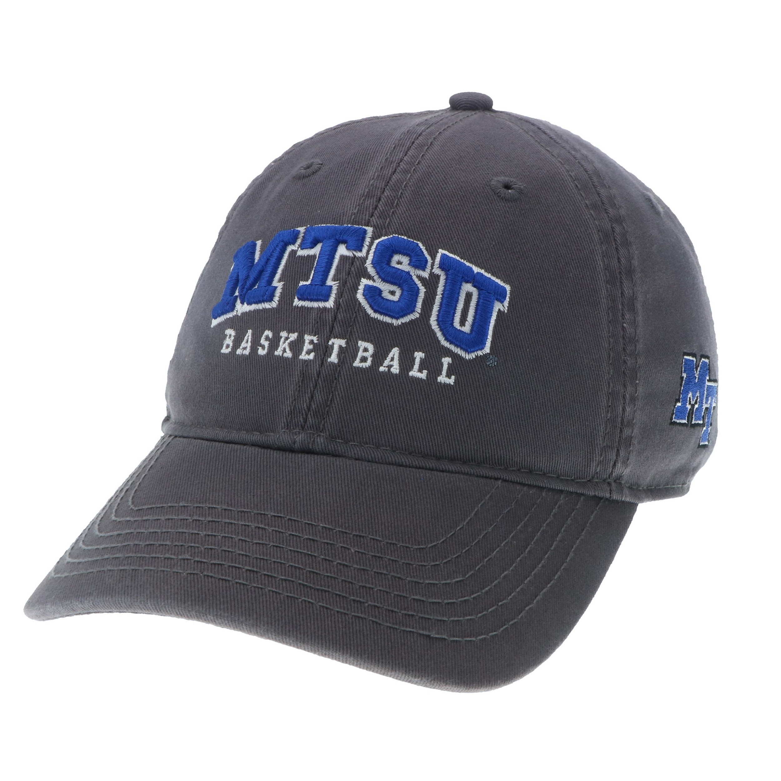 MTSU Basketball Arch Relaxed Twill Hat