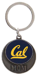 Cal Bears Blue Mom Keytag