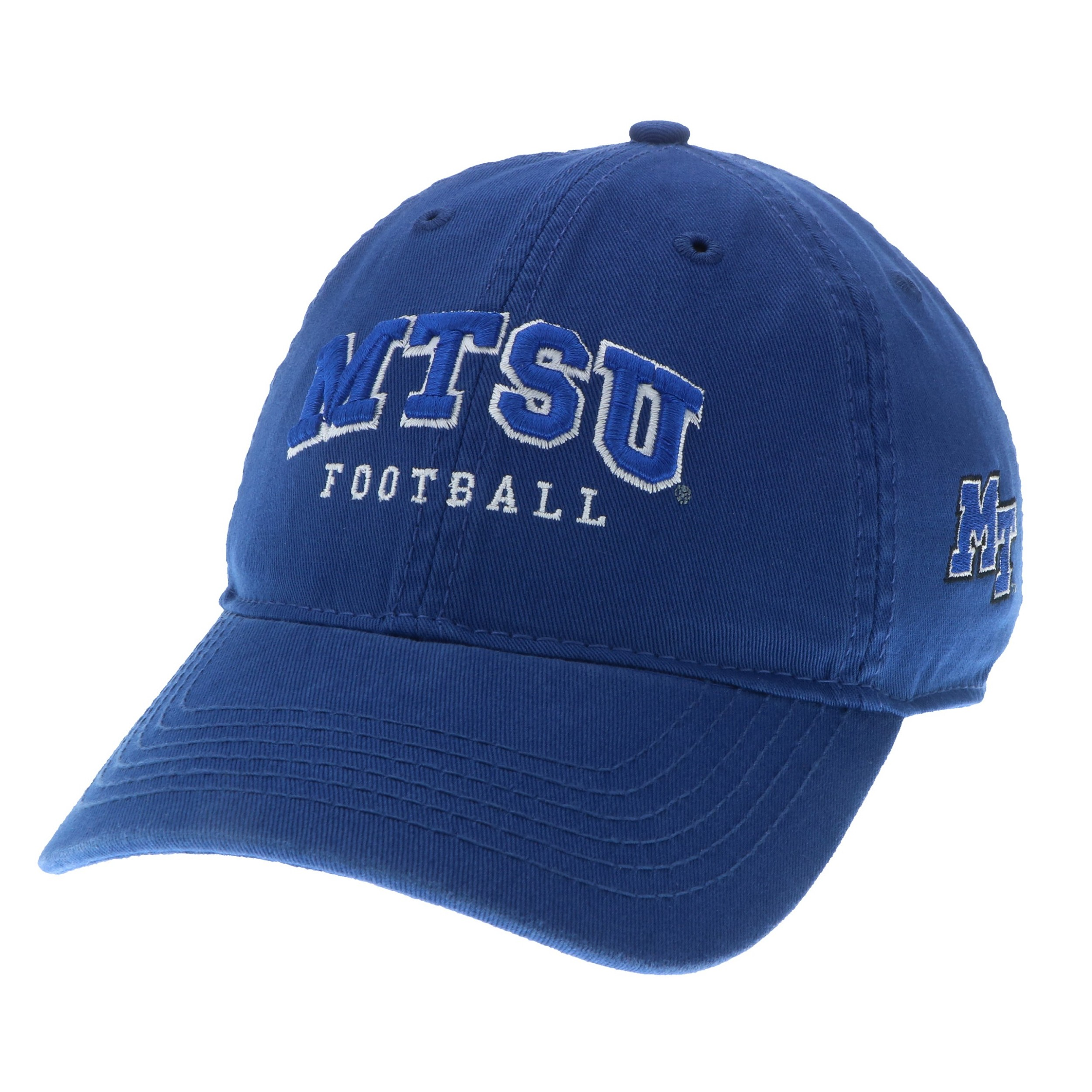 MTSU Football Arch Relaxed Twill Hat