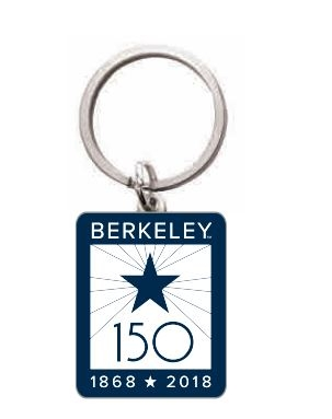 Cal Bears Custom Metal Keytag Berkeley 150