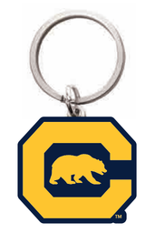 Cal Bears Custom Shape Keytag C Bear