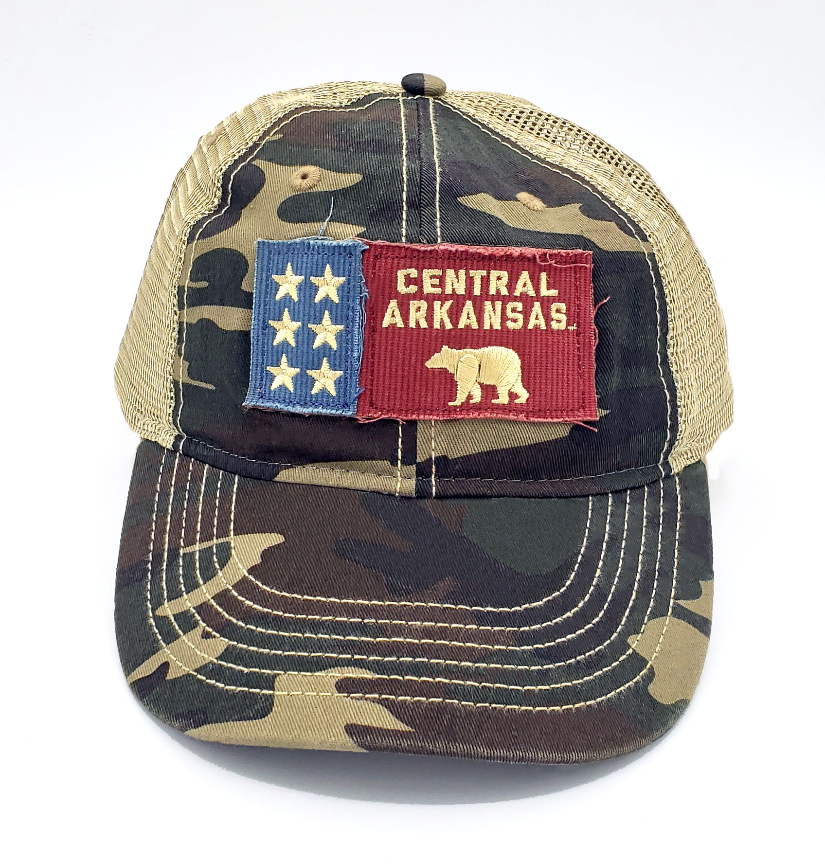 Camo Central Arkansas Cap
