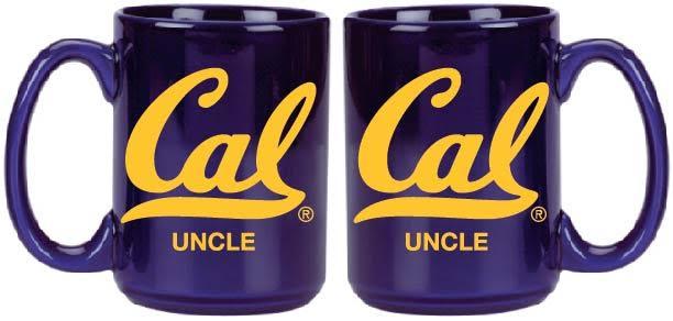 "University of California Berkeley 15oz Grande Mug ""Uncle"""