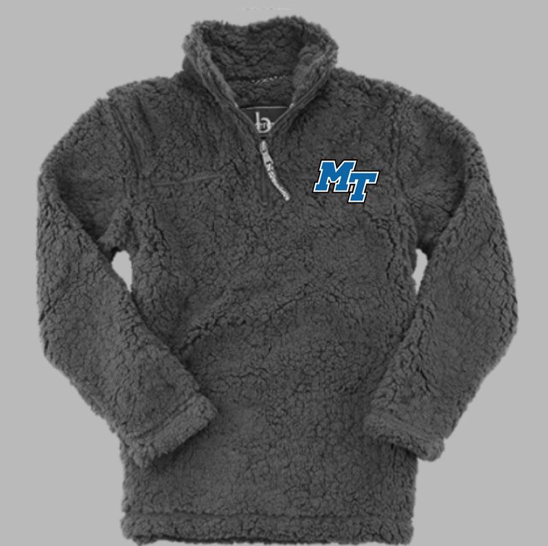 MT Logo 1/4 Zip Sherpa Pullover