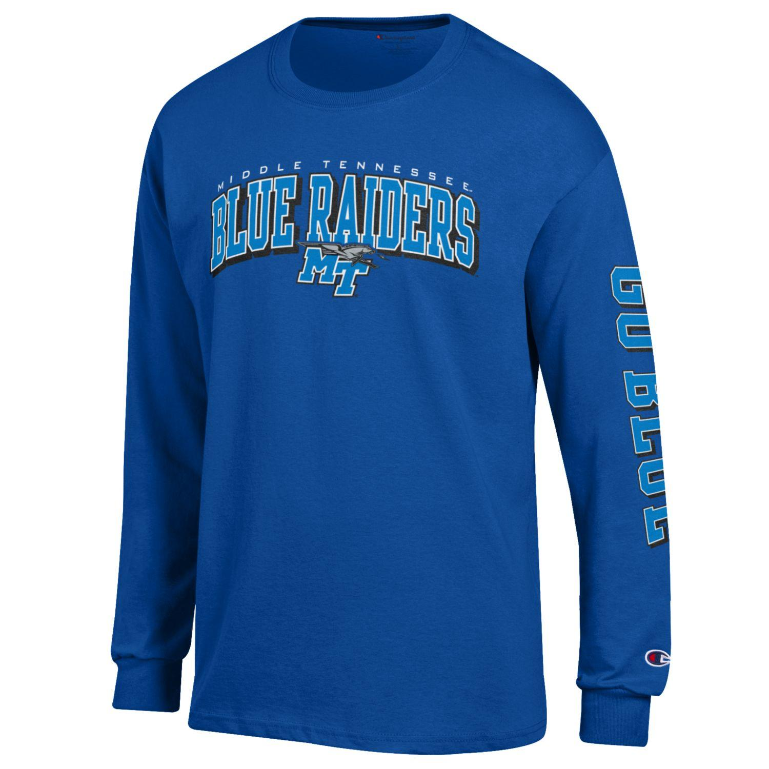 Middle Tennessee Blue Raiders Go Blue Long Sleeve Shirt