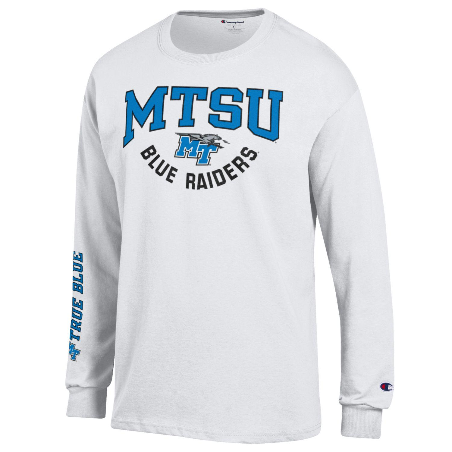 MTSU Blue Raiders True Blue Long Sleeve Shirt