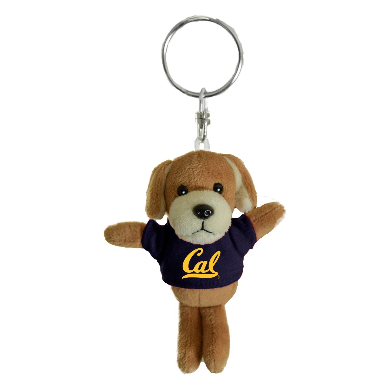 Cal Bears Mascot Factory Dog Keychain