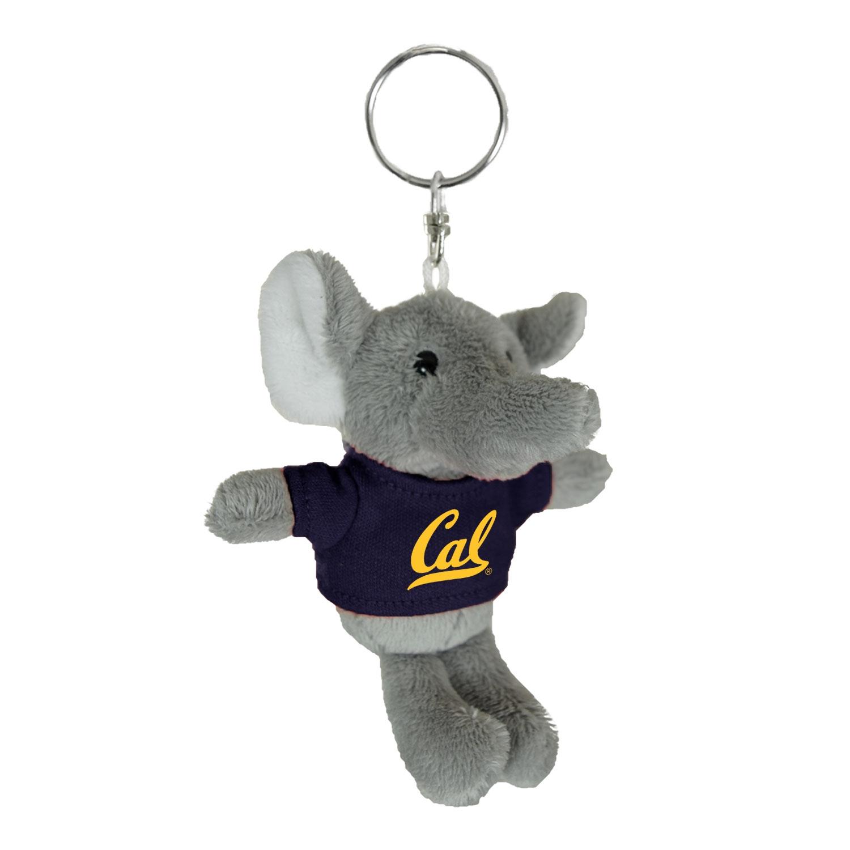 Cal Bears Mascot Factory Elephant Keychain