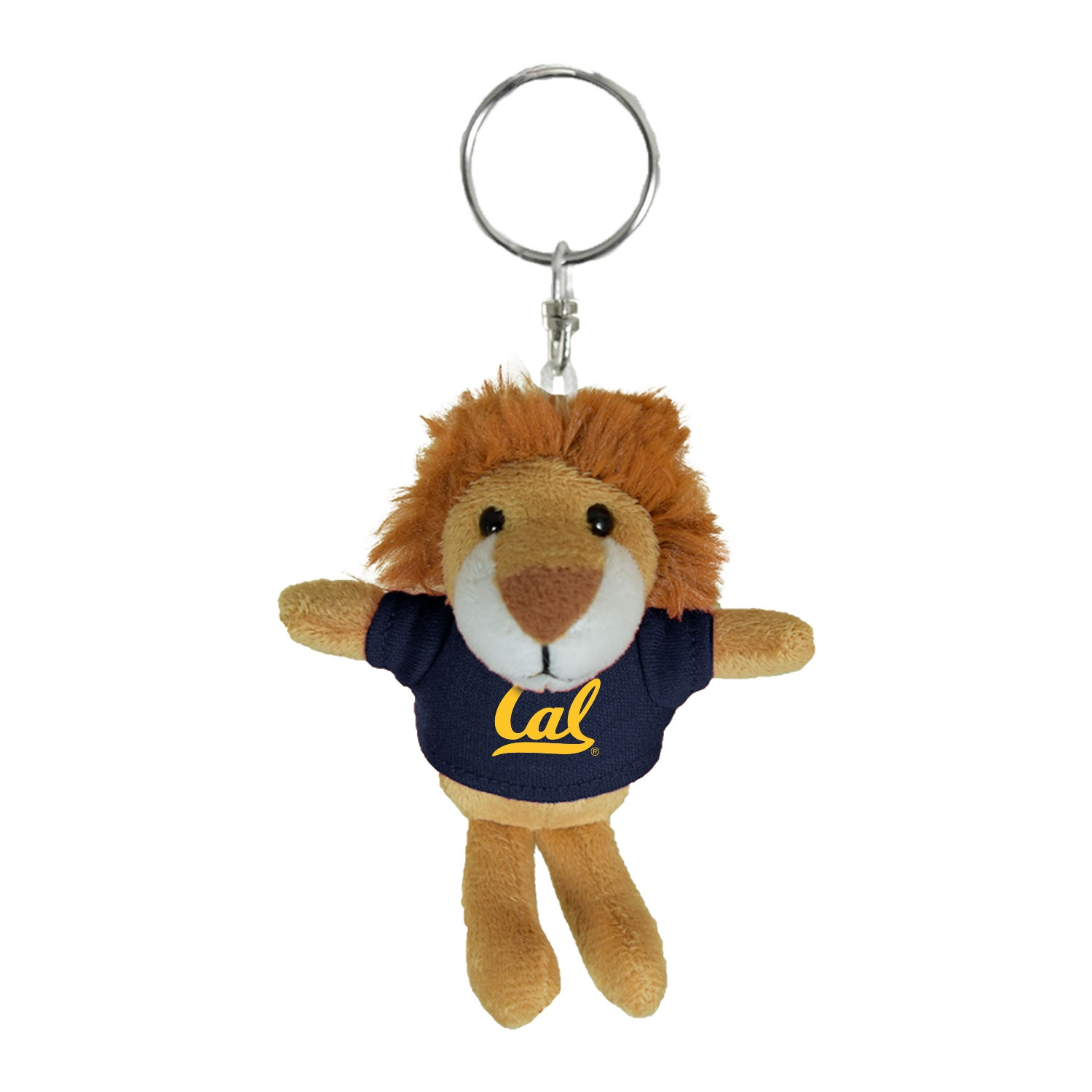 Cal Bears Mascot Factory Lion Keychain