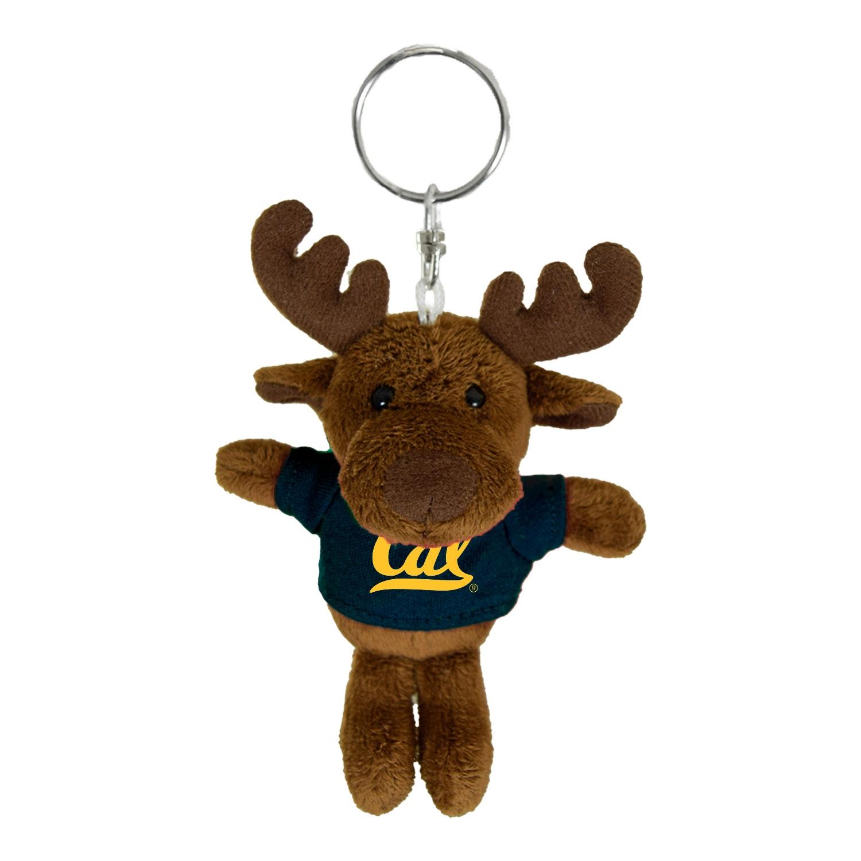 Cal Bears Mascot Factory Moose Keychain