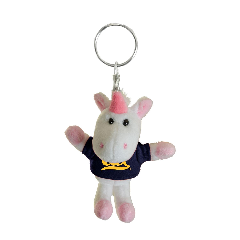 Cal Bears Mascot Factory Unicorn Keychain